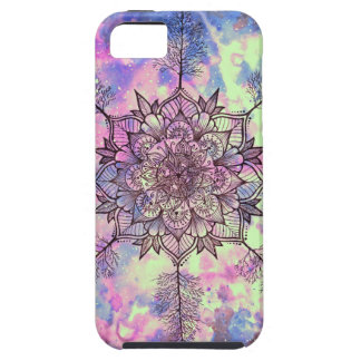 Galaxy Tree Mandala iPhone 5 Cases