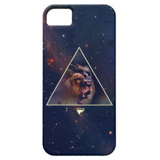 Galaxy Triangle Lion Head - Trendium Authentic iPhone 5 Cover