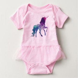 Galaxy Unicorn Baby Bodysuit