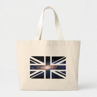 Galaxy Union Jack British(UK) Flag Bag