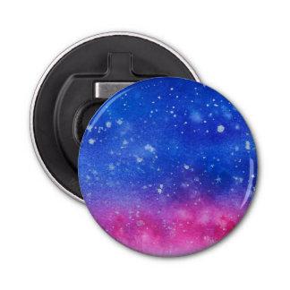 Galaxy Watercolour Bottle Opener