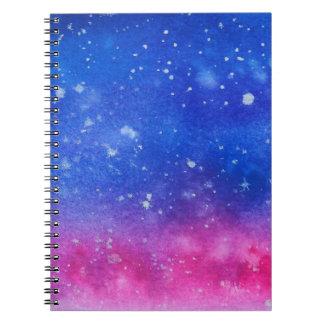 Galaxy Watercolour Notebook