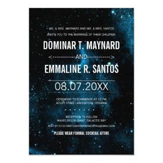 Galaxy Wedding Invitation