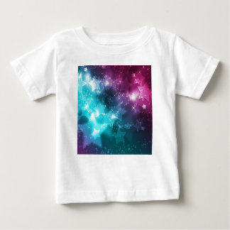 Galaxy with stars baby T-Shirt