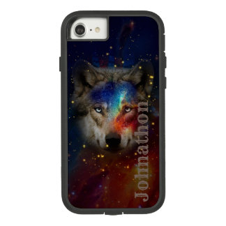 Galaxy Wolf For Men And Teen Boys Case-Mate Tough Extreme iPhone 8/7 Case