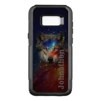 Galaxy Wolf For Men And Teen Boys OtterBox Commuter Samsung Galaxy S8+ Case