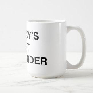 Galaxy's Best Commander Coffee Mug