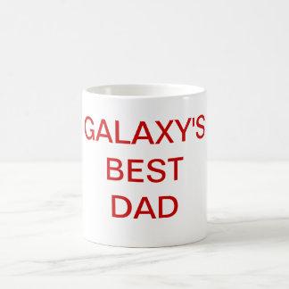 Galaxy's Best Dad Coffee Mug