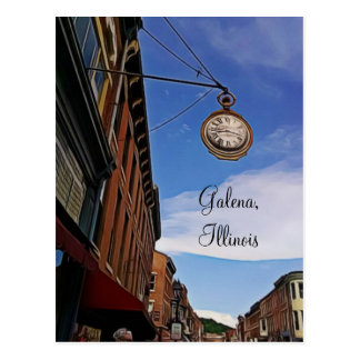 Galena, Illinois Keepsake Postcard