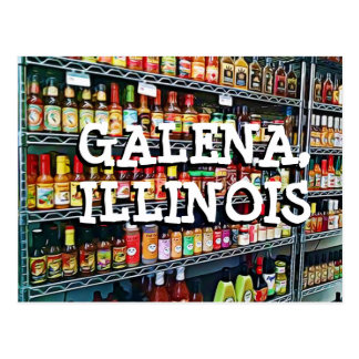 Galena Illinois Keepsake Postcard