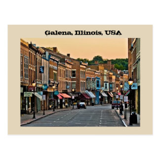 Galena, Illinois, USA Postcard