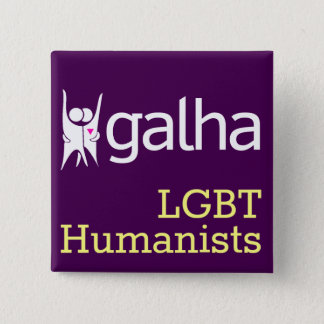 Galha LGBT Humanists square badge