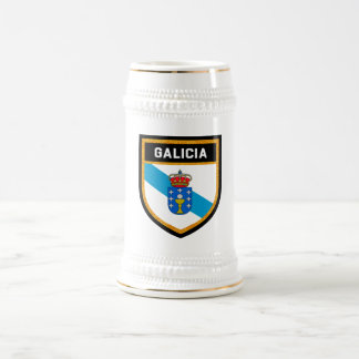 Galicia Flag Beer Stein