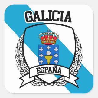 Galicia Square Sticker