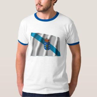 Galicia waving flag T-Shirt