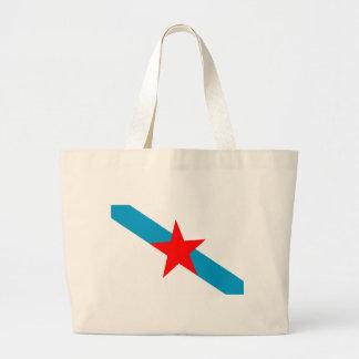 galician-nationalism-Flag Large Tote Bag