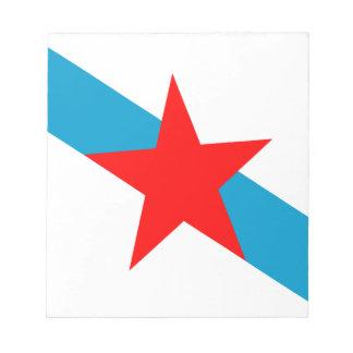 galician-nationalism-Flag Notepad