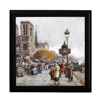 Galien Paris France Marketplace Streets Gift Box
