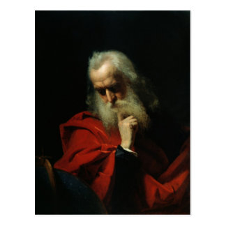Galileo Galilei  1858 Postcard