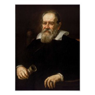 Galileo Galilei - Astronomer and Mathematician Poster
