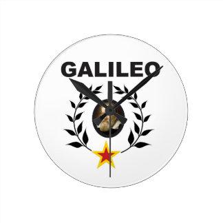 galileo in glory crown clock