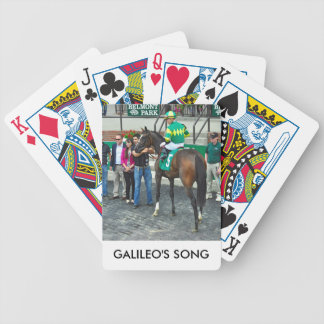 Galileo's Song Bicycle Playing Cards