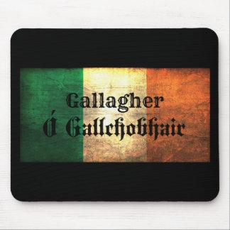 Gallagher Irish Flag Mouse Pad