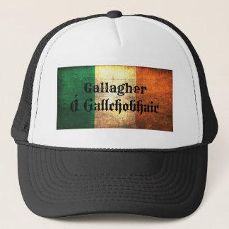 Gallagher Irish Flag Trucker Hat