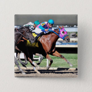 Gallant Bob Stakes 2015 15 Cm Square Badge