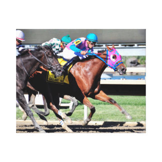 Gallant Bob Stakes 2015 Canvas Print