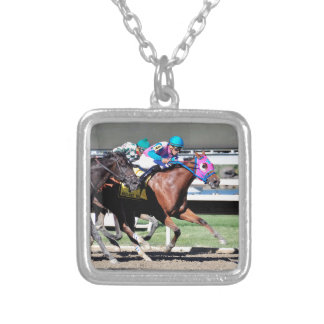 Gallant Bob Stakes 2015 Silver Plated Necklace