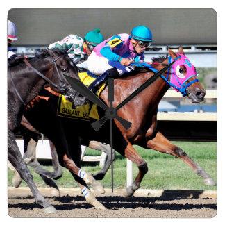 Gallant Bob Stakes 2015 Square Wall Clock