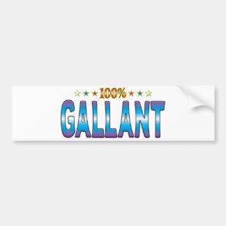 Gallant Star Tag v2 Bumper Sticker