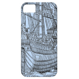 Galleon Sailing Ship iPhone 5 Case