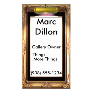 Gallery Frame Artists. Pack Of Standard Business Cards