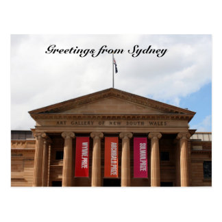 gallery greetings postcard