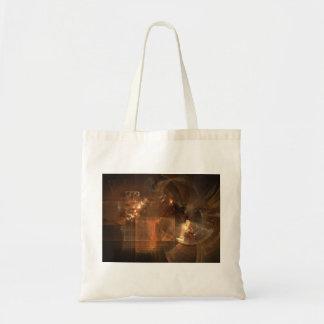 Gallery Of Light Fractal Artwork Canvas Bags