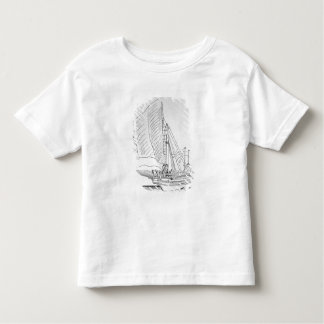 Galley of the 16th century toddler T-Shirt