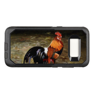Gallic rooster//Rooster OtterBox Commuter Samsung Galaxy S8 Case