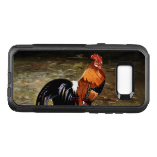 Gallic rooster//Rooster OtterBox Commuter Samsung Galaxy S8+ Case