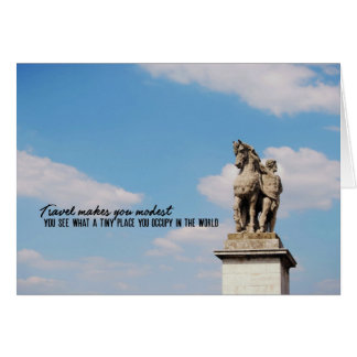 GALLIC WARRIOR 5x7 Greeting Card