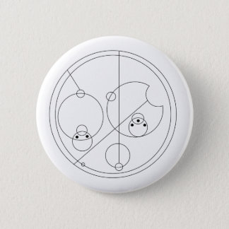 Gallifreyan I Love You Button