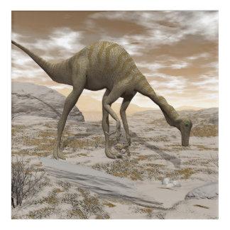 Gallimimus dinosaur - 3D render Acrylic Print