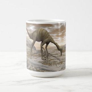 Gallimimus dinosaur - 3D render Coffee Mug