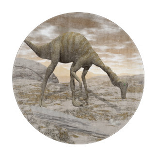 Gallimimus dinosaur - 3D render Cutting Board