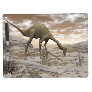 Gallimimus dinosaur - 3D render Dry Erase Board With Key Ring Holder