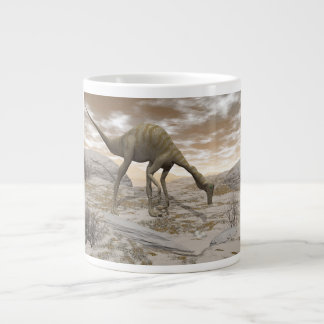 Gallimimus dinosaur - 3D render Large Coffee Mug