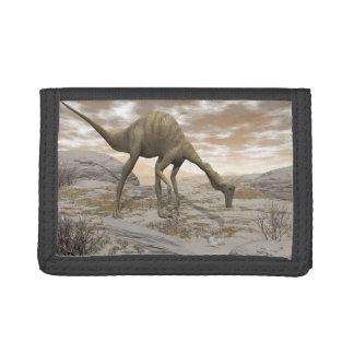 Gallimimus dinosaur - 3D render Trifold Wallet