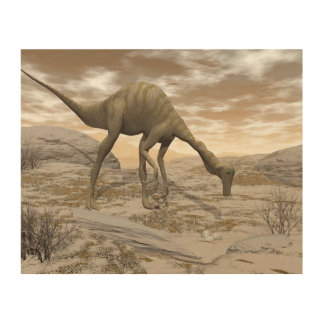 Gallimimus dinosaur - 3D render Wood Canvases