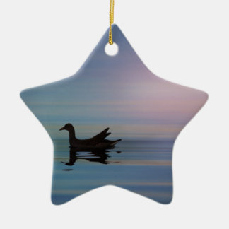 Gallinule Smooth Ceramic Ornament